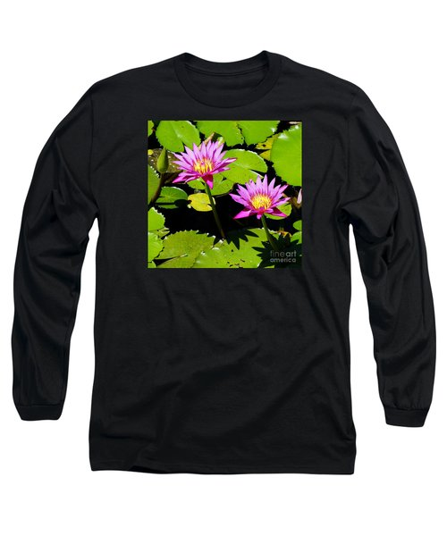Water Lily 11 Long Sleeve T-Shirt