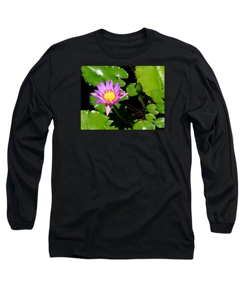 Water Lily 9 Long Sleeve T-Shirt