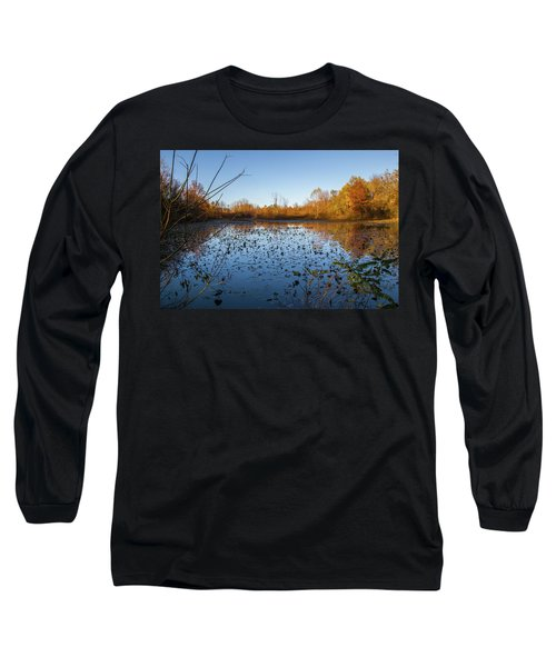 Water Lily Evening Serenade Long Sleeve T-Shirt