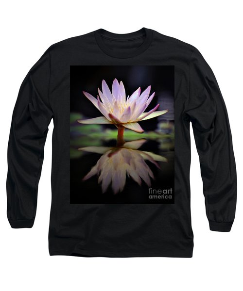 Long Sleeve T-Shirt featuring the photograph Water Lily by Savannah Gibbs