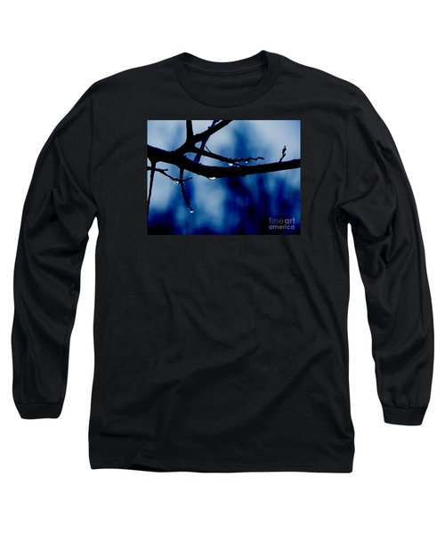Water On Branch Long Sleeve T-Shirt by Craig Walters
