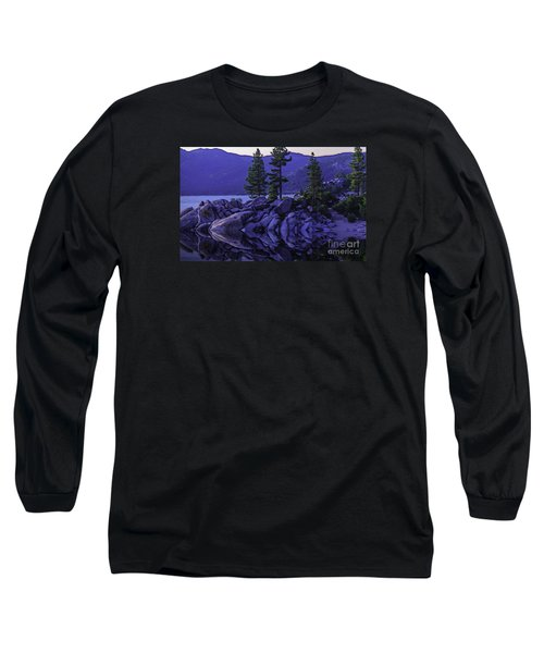 Long Sleeve T-Shirt featuring the photograph Water Reflections by Nancy Marie Ricketts