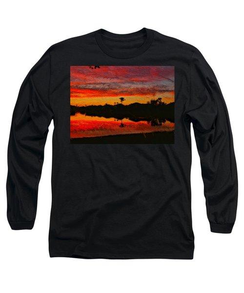 Winter Sunrise I Long Sleeve T-Shirt