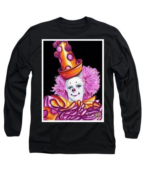 Watercolor Clown #26 Victor Ruiz Long Sleeve T-Shirt