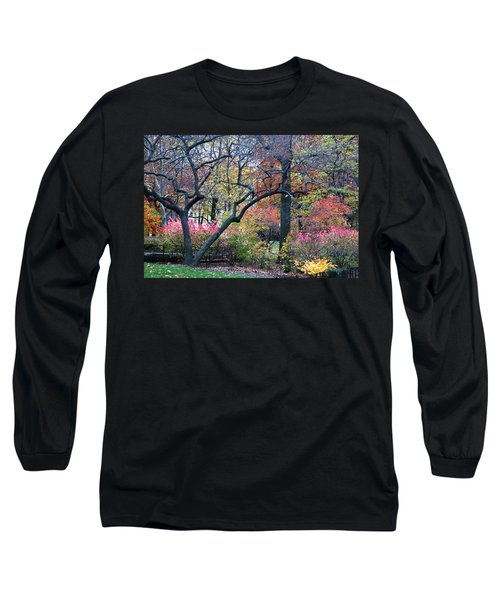 Watercolor Forest Long Sleeve T-Shirt