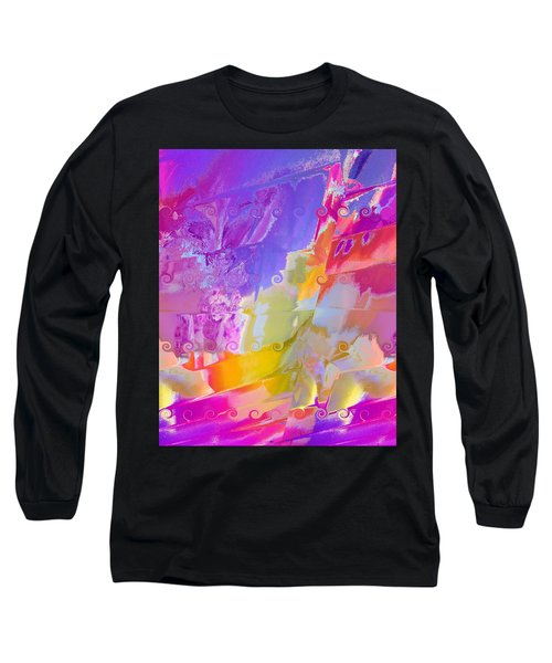 Waterfall Long Sleeve T-Shirt by Alika Kumar