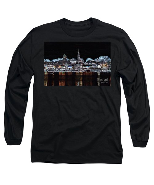 Waterfront Etching Long Sleeve T-Shirt