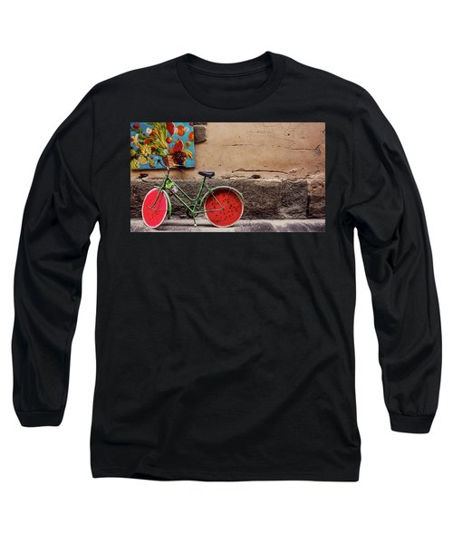 Watermelon Wheels Long Sleeve T-Shirt