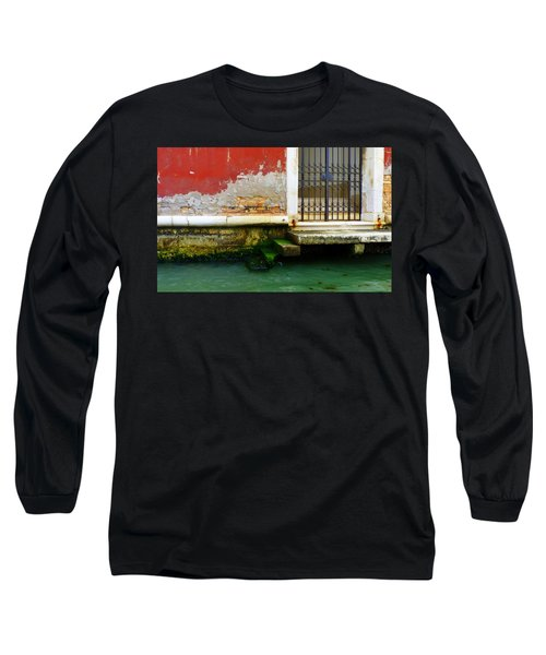 Water's Edge In Venice Long Sleeve T-Shirt