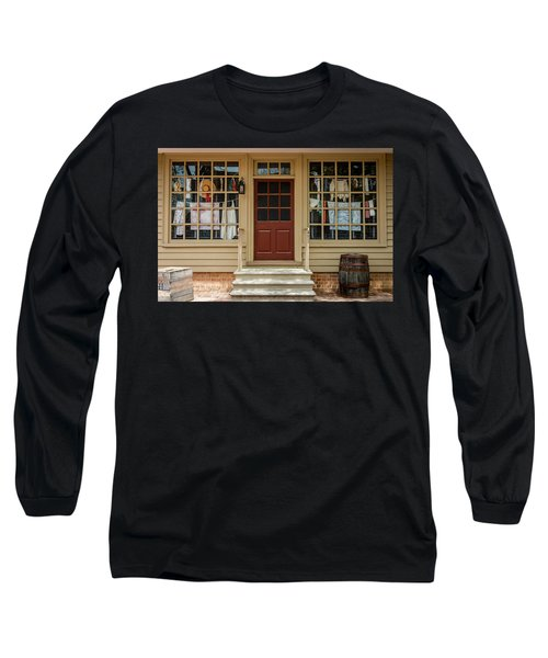 Waters Storehouse Colonial Williamsburg Long Sleeve T-Shirt