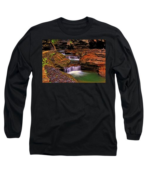 Watkins Glen State Park 014 Long Sleeve T-Shirt