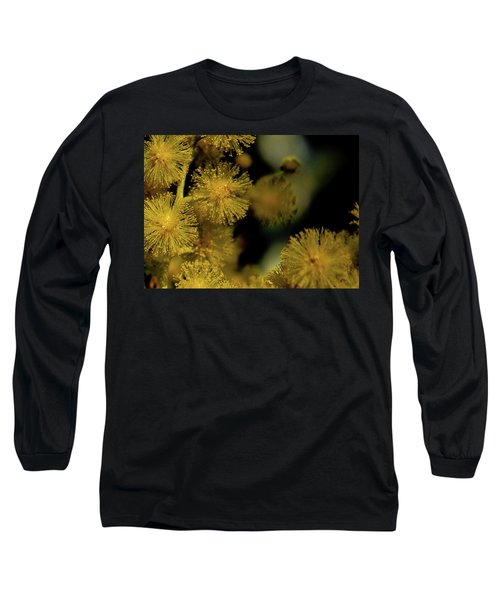 Wattle Flowers Long Sleeve T-Shirt