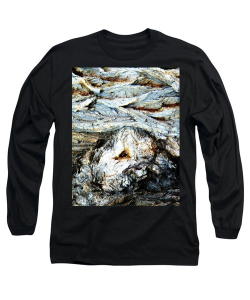 Waves Are My Blanket Long Sleeve T-Shirt by Lenore Senior