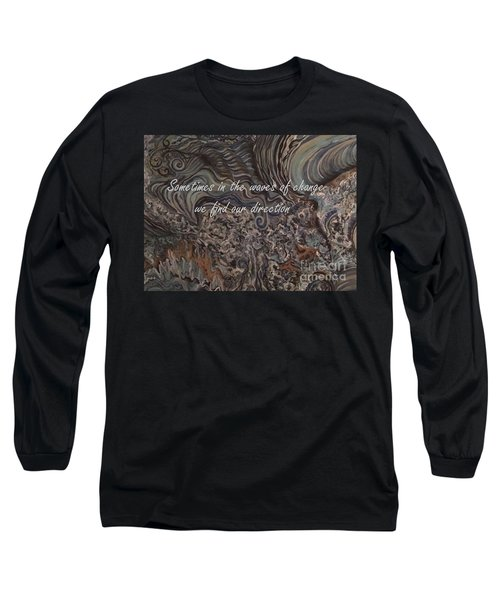 Waves Of Change Long Sleeve T-Shirt