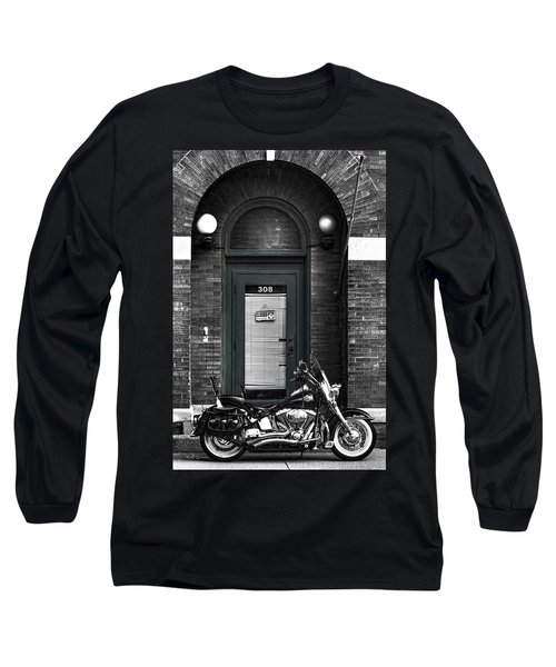 Wayne's Harley Long Sleeve T-Shirt