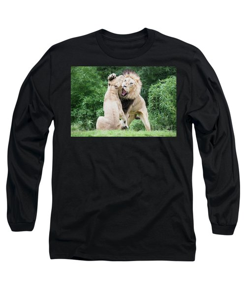 We Are Only Playing Oil Long Sleeve T-Shirt