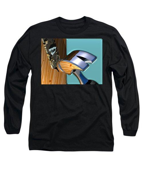 We Live Here Long Sleeve T-Shirt