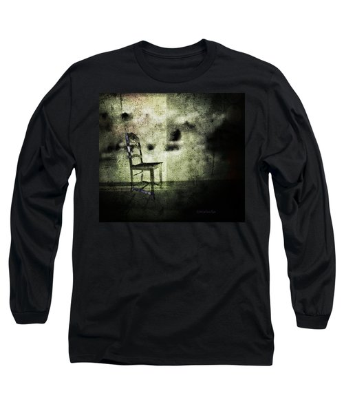 Long Sleeve T-Shirt featuring the digital art We Never Did That In Our Family by Delight Worthyn