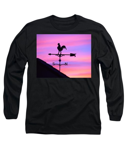 Weather Vane, Wendel's Cock Long Sleeve T-Shirt by Jana Russon