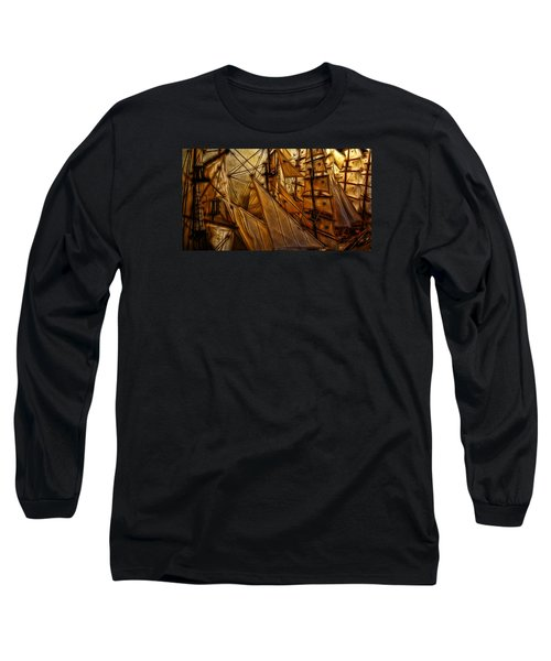 Long Sleeve T-Shirt featuring the photograph Wee Sails by Cameron Wood