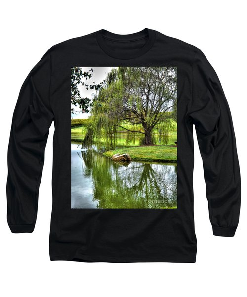 Weep No More Long Sleeve T-Shirt by Christy Ricafrente