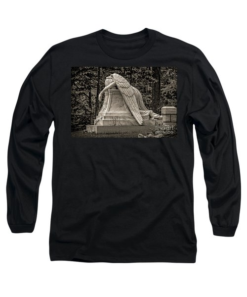 Weeping Angel - Sepia Long Sleeve T-Shirt