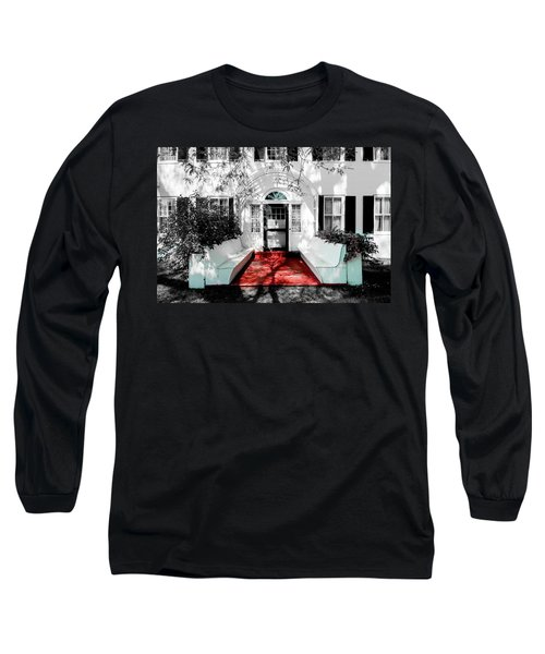 Long Sleeve T-Shirt featuring the photograph Welcome by Greg Fortier