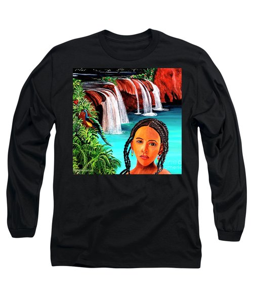 Welcome To My Sancturary Long Sleeve T-Shirt