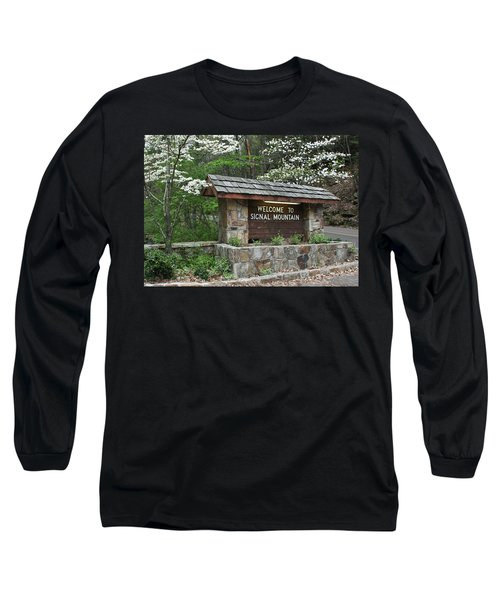 Welcome To Signal Mountain Spring Long Sleeve T-Shirt