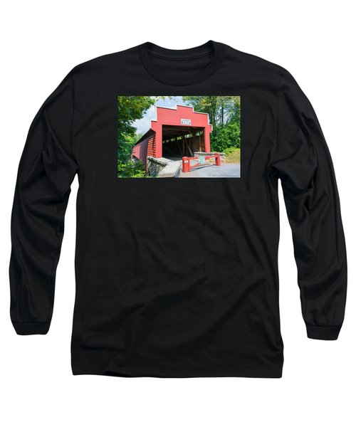 Wertz Covered Bridge Long Sleeve T-Shirt