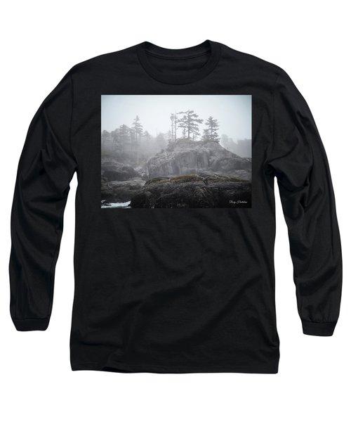 West Coast Landscape Ocean Fog IIi Long Sleeve T-Shirt