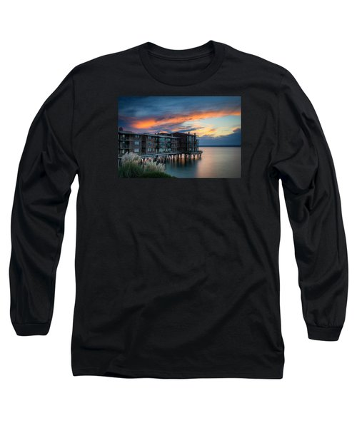 West Seattle Living Long Sleeve T-Shirt by Dan Mihai