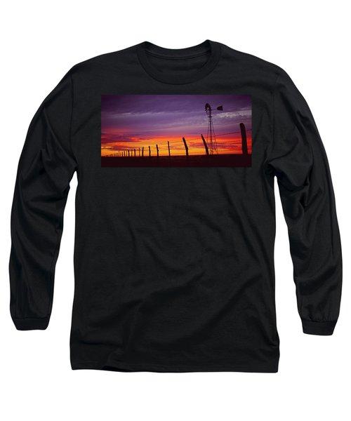 West Texas Sunset Long Sleeve T-Shirt