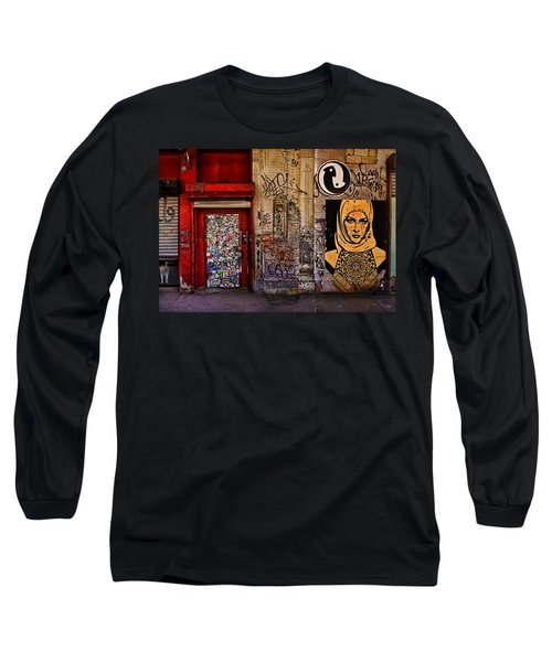 West Village Wall Nyc Long Sleeve T-Shirt