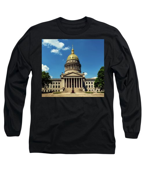 West Virginia Capitol - Charleston Long Sleeve T-Shirt by L O C