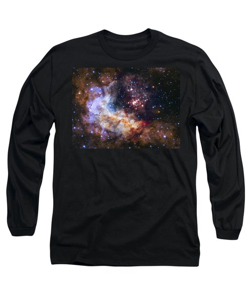 Westerlund 2 - Hubble 25th Anniversary Image Long Sleeve T-Shirt