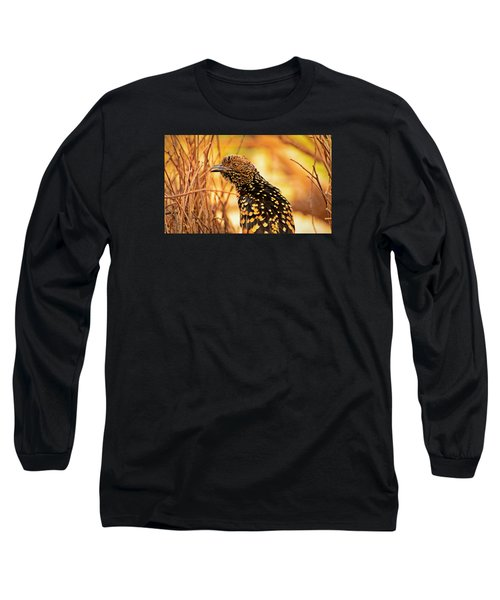 Western Bowerbird Long Sleeve T-Shirt