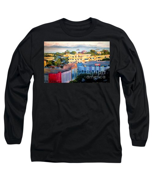 Western Part Of Sorong Town Long Sleeve T-Shirt