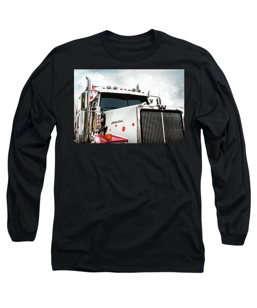 Western Star Out Of Canada Long Sleeve T-Shirt