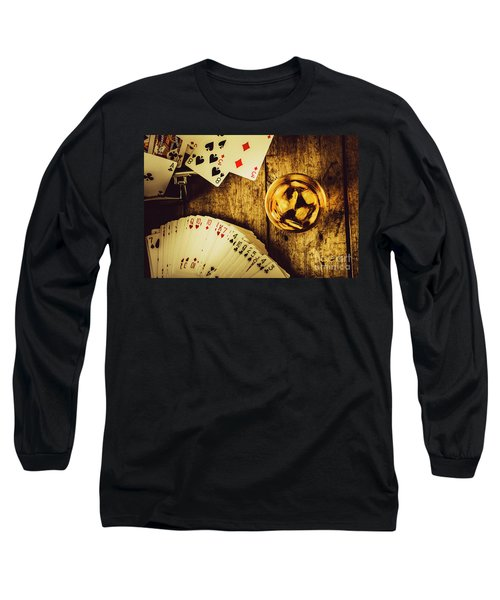 Western Straight Shooter  Long Sleeve T-Shirt