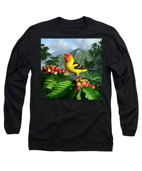Western Tanager Long Sleeve T-Shirt