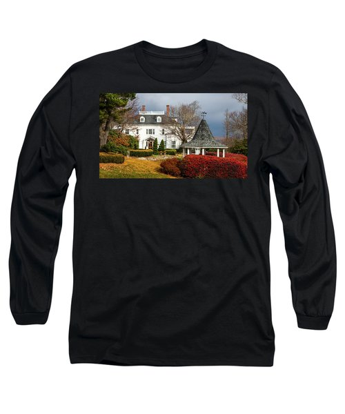 Long Sleeve T-Shirt featuring the photograph Westglow In Autumn by Karen Wiles