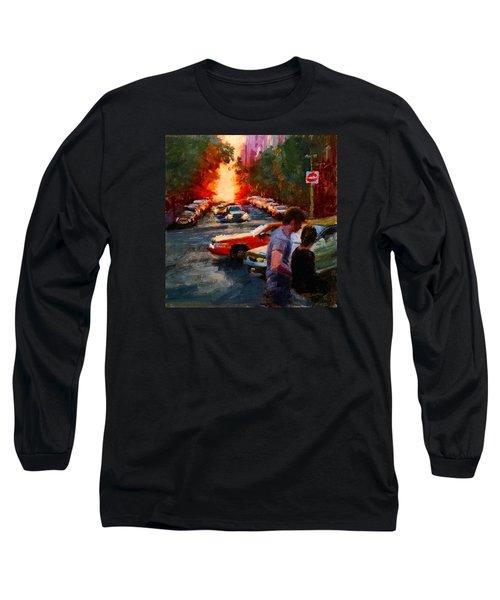 Westside Sunset No. 3 Long Sleeve T-Shirt