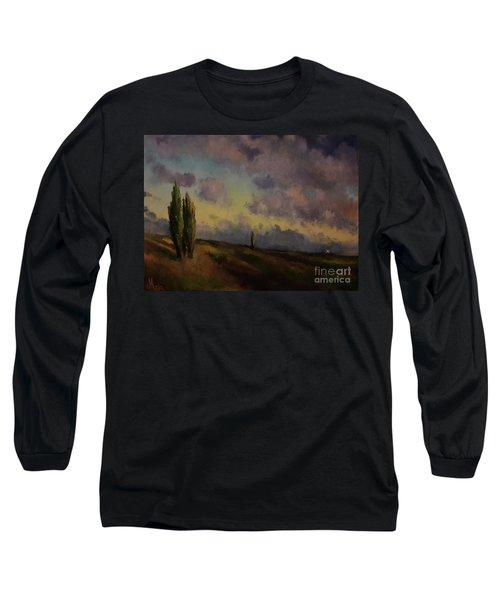 Wet Sky Long Sleeve T-Shirt