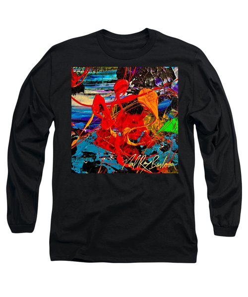 Wet Sunset Long Sleeve T-Shirt