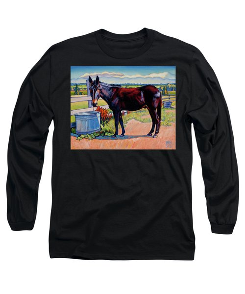 Wetting His Whistle Long Sleeve T-Shirt
