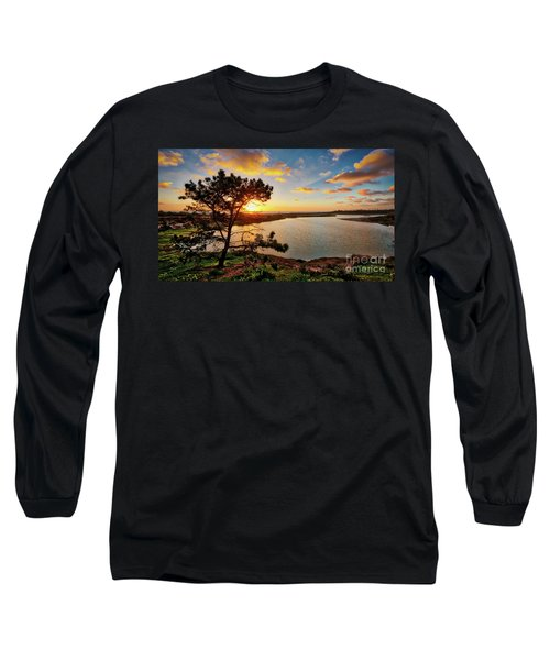 What A Glow At The Batiquitos Lagoon Long Sleeve T-Shirt