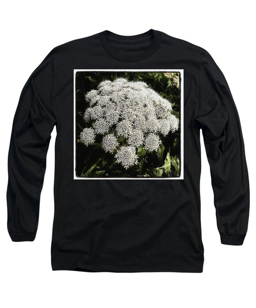 Long Sleeve T-Shirt featuring the photograph What Flower Is This? I Think It's by Mr Photojimsf
