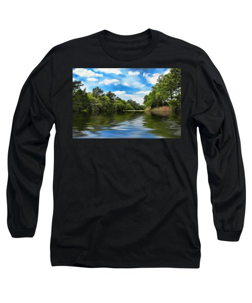 What I Remember About That Day On The River Long Sleeve T-Shirt