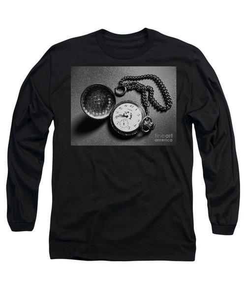 What Is The Time? Long Sleeve T-Shirt by Jasna Dragun